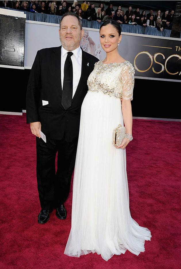85th Annual Academy Awards - Arrivals: Harvey Weinstein and Georgina Chapman