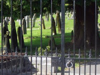 Our town cemetery.