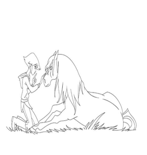 ausmalbilder pferde lenas ranch ausmalbilder
