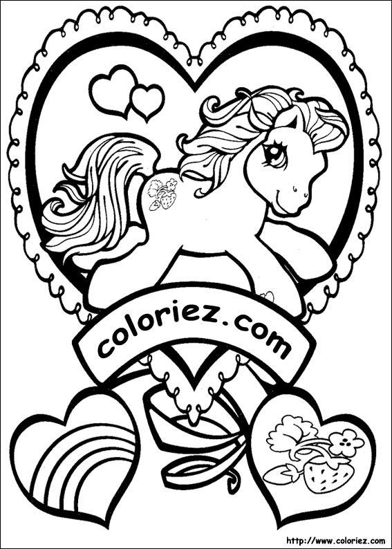 101 Dessins De Coloriage Petit Poney à Imprimer Sur Laguerchecom