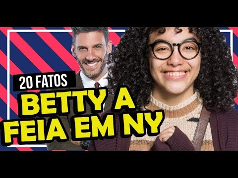 20 CURIOSIDADES SOBRE BETTY A FEIA EM NOVA YORK DO SBT | Televizona