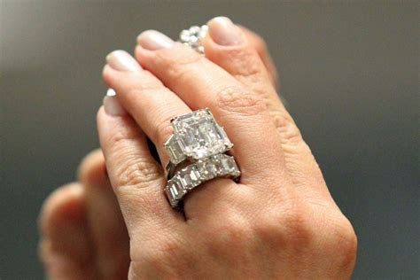 Kim Kardashian?s Cursed Engagement Ring for Sale    The Cut