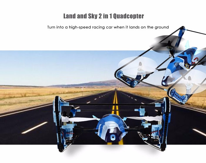 Wl Toys Q919 two in 1 Quadcopter