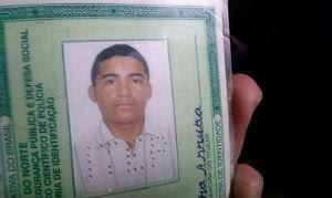 Geovanio Pereira Arruda foi atingido por tiros na Cidade Jardim