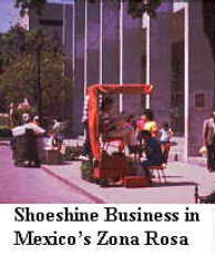 Shoshine Business in Mexico's Zona Rosa