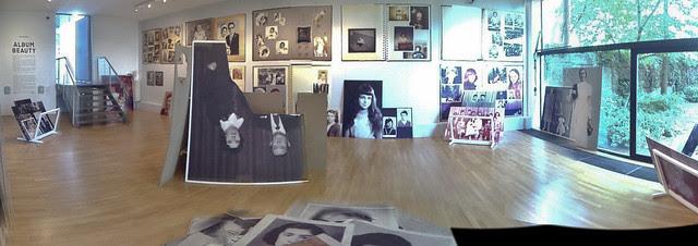 Display of Erik Kessel's Album Beauty @ Foam Amsterdam