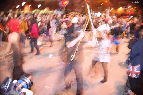 Psicodelia de una protesta by Alejandro Bonilla