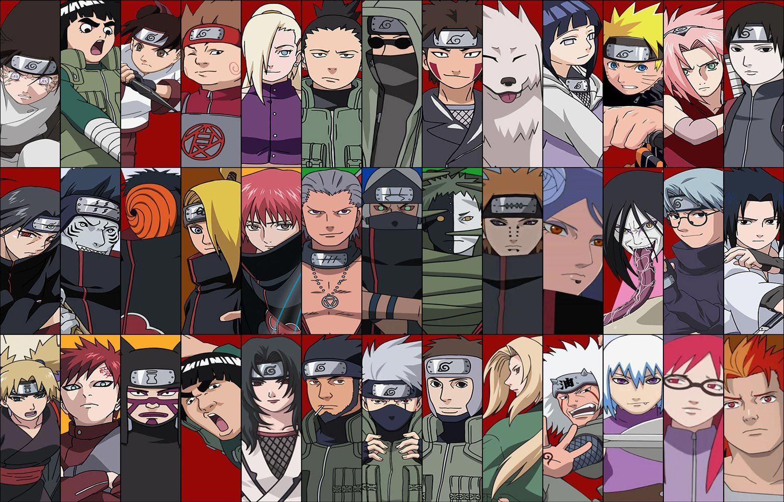 Personnage of Naruto Shippuden | We Heart It | naruto and ...