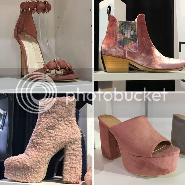 2017 pink shoe fashion trend, FN Platform shoes
