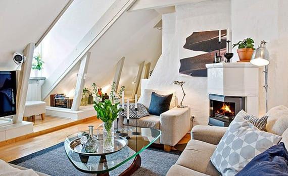 Dachgeschosswohnung - die Vorteile unterm Dach zu wohnen ...