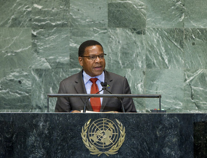 Foreign Minister of Tanzania Addresses General Assembly