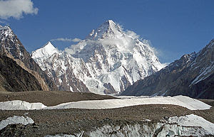 English: K2 (Baltoro Muztagh, Central Karakora...