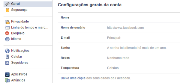 Como recuperar conversas excluidas do Facebook?