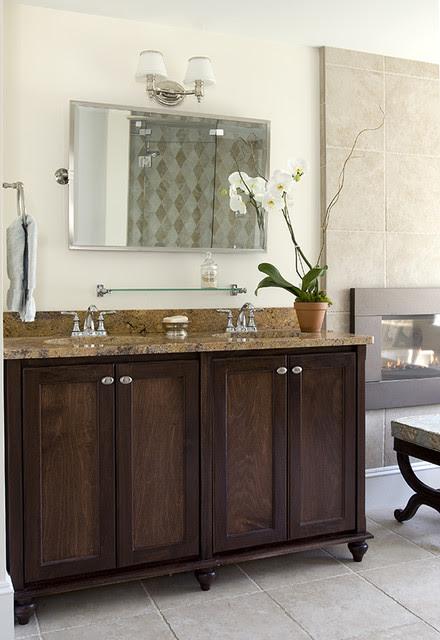 Celia Bedilia Double Vanity - traditional - bathroom vanities and ...