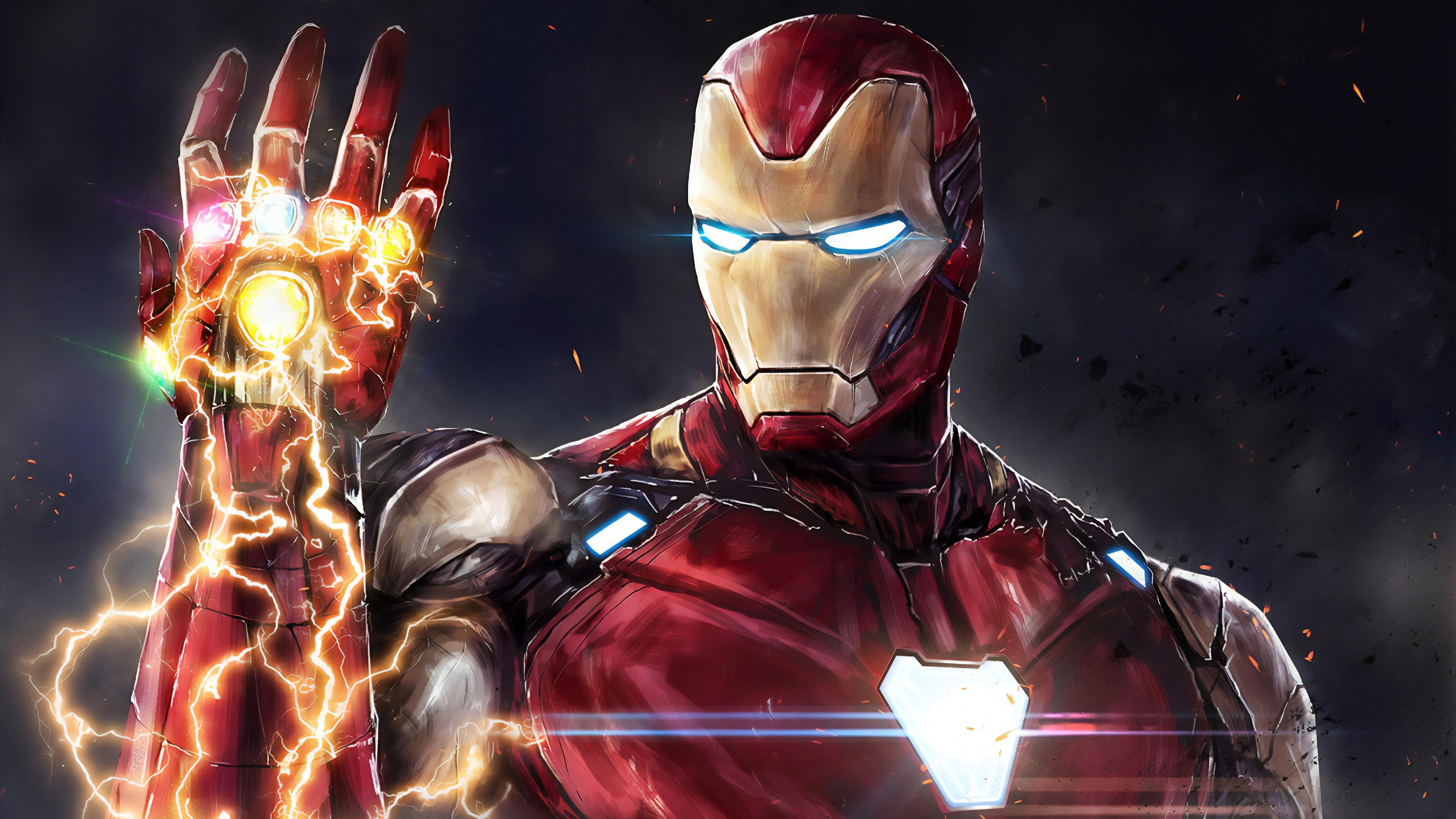 Download Wallpaper Iron Man 4k Hd Cikimm Com
