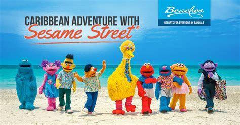 Kids' Sesame Street Caribbean Adventure Vacation   Beaches