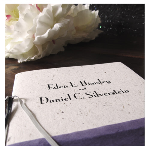 Our Wedding Programs