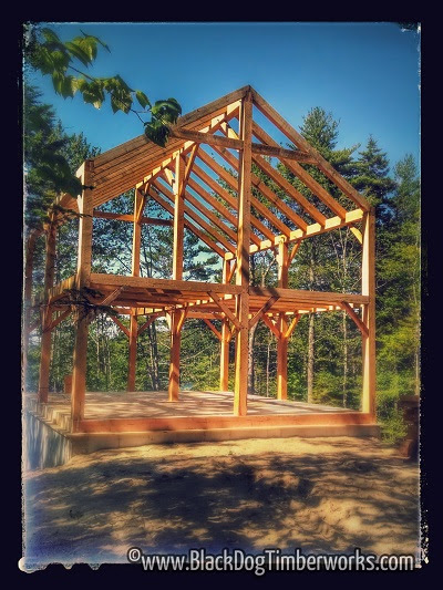 24 X 28 Timber Frame Residence Black Dog Timberworks