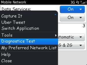Diagnostics Test maintenance tips untuk BlackBerry