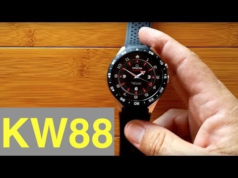 Smart Watch: KingWear KW88 Smartwatch: Adding Custom Watch Faces