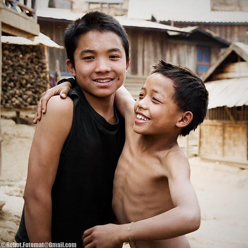 An Akha Village in Laos
