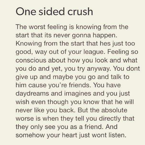 One Sided Crush Pictures Photos And Images For Facebook Tumblr