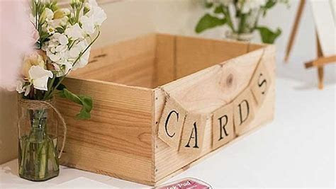 23 Wedding Card Box Ideas   Shutterfly