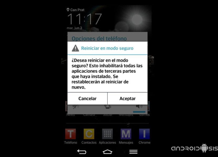 ¿Problemas con Android?, solucionalos entrando en modo seguro