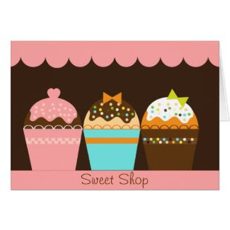 Sweet Shop Card card