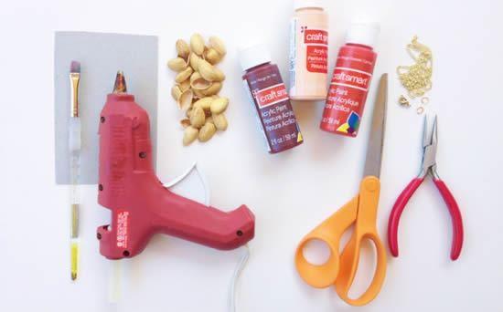 Materiais para fazer colar artesanal