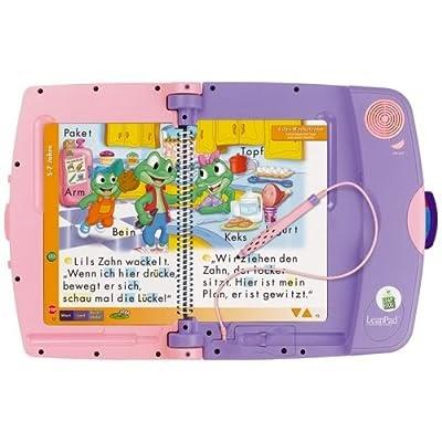 Geschenke für Kinder 👉 Leap Frog 41187016 - LeapPad-Lernsystem, pink