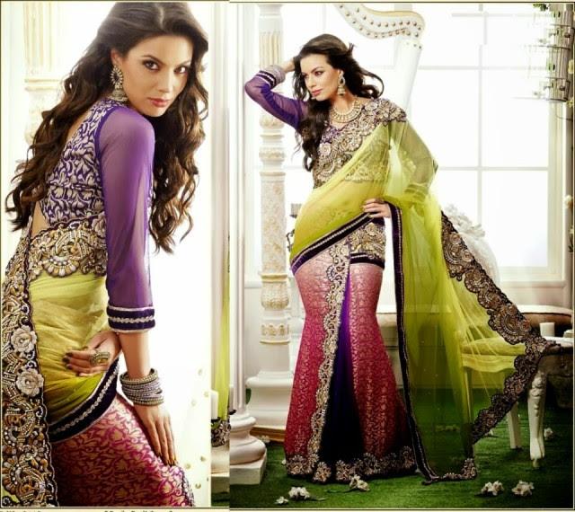 Bridal-Wedding-Rich-Heavy-Embroidered-Sarees-Designs-Lehanga-Style-Fancy-Sari-New-Fashion-6