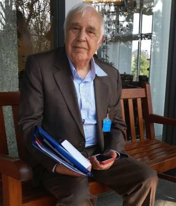 El economista británico, Robert Skidelsky