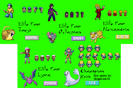 Gallery For gt; Pokemon Fire Red Sprites