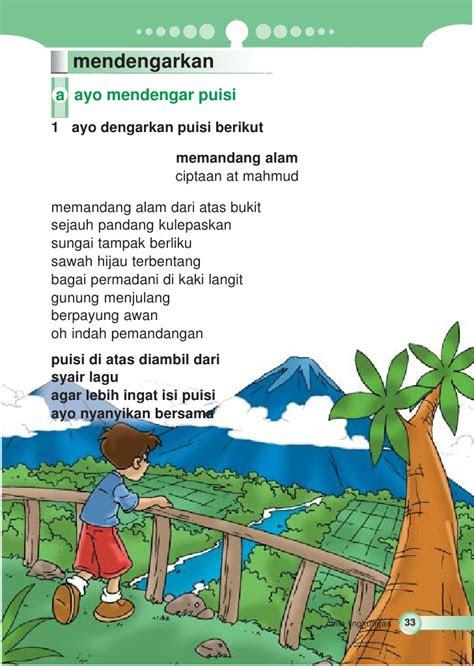sd mi kelas cinta berbahasa indonesia trinovia