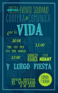 Cartel Evento Solidario