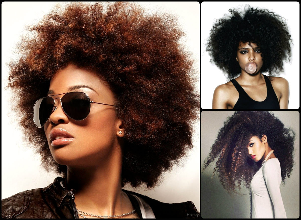 Cutest Afro Hairstyles For Black Women Fahion And Style 2016
