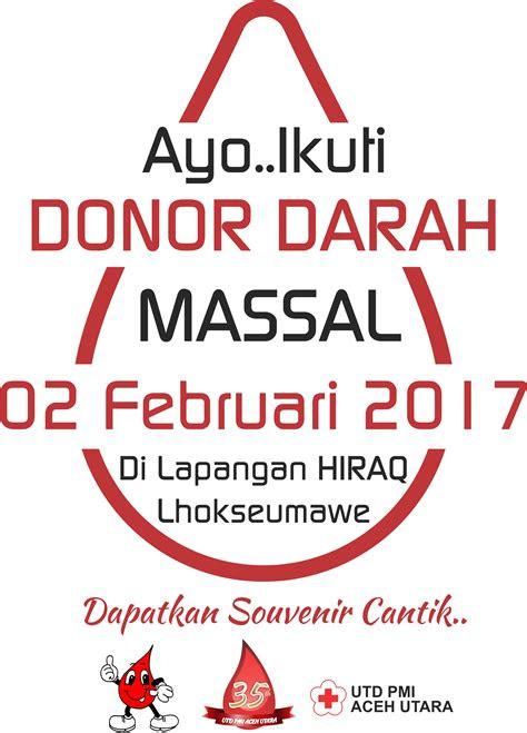 donor darah  rangka kegiatan operasi teritorial