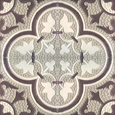 Roseton Relief Tile