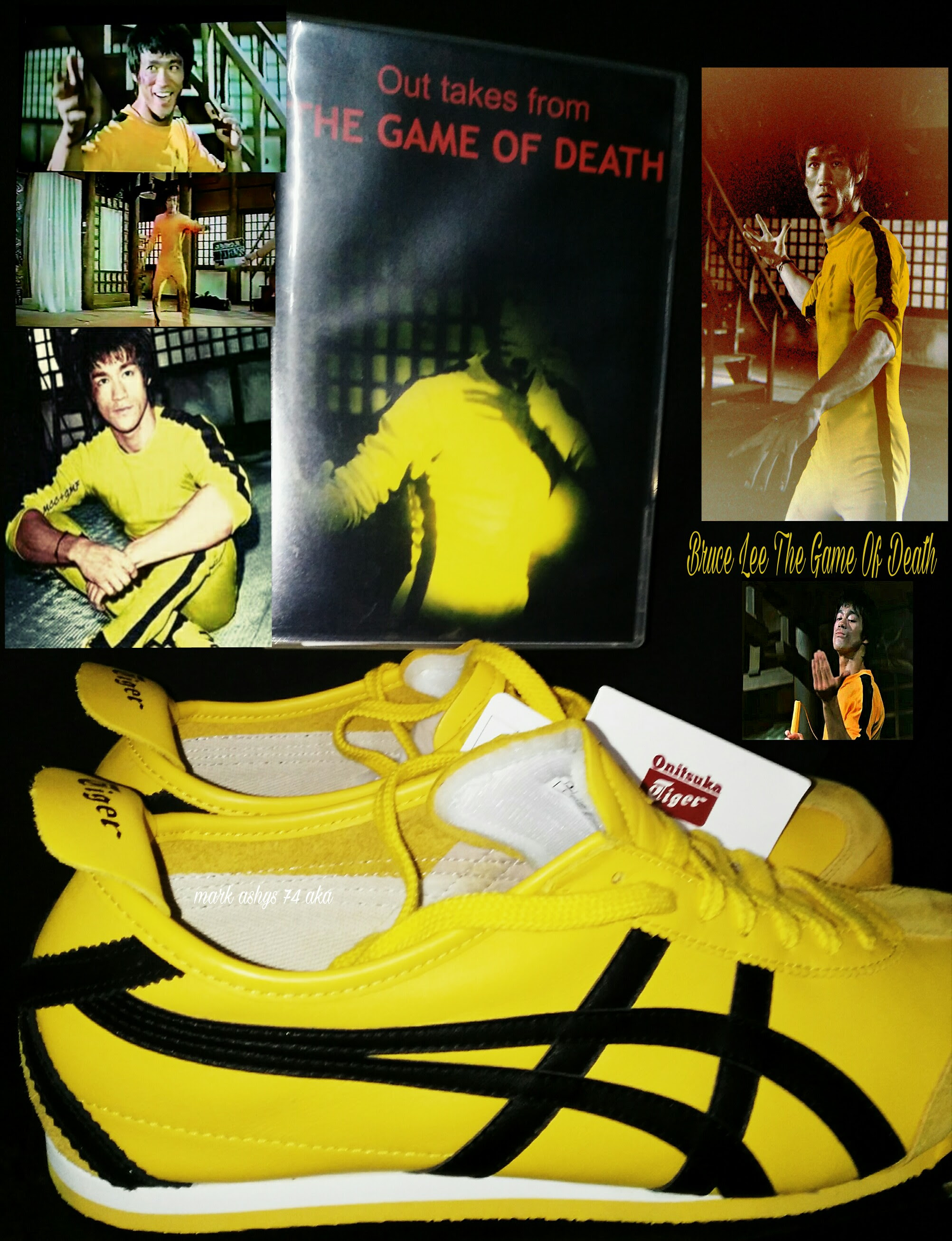 Bruce Lee Game Of Death Outtakes Onitsuka Tiger Mexico 66