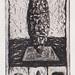21 Between earth and sky,(1-12),複合媒材,33×42cm,2001