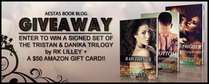 SIGNED GIVEAWAY — THE TRISTAN & DANIKA TRILOGY