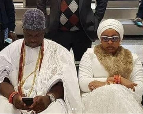 Image result for Olori Wurauola Confirms Her Marriage Crash And Also Called Out The Ooni Of Ife! (Photos)