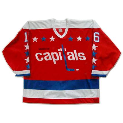 Washington Capitals 83-84  jersey, Washington Capitals 83-84  jersey