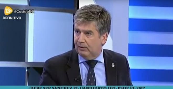 Ignacio Cosidó, director general de la Policía, en la tertulia de 13 TV