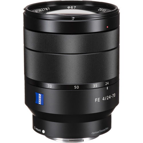 Click to learn more about new lenses and accessories including the Sony Vario-Tessar T* FE 24-70mm f/4 ZA OSS