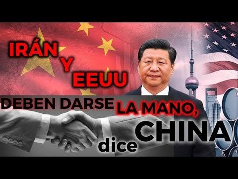 "CHINA reprende a EEUU e IRÁN: ""cumplan con el Acuerdo inmediatamente..!"""
