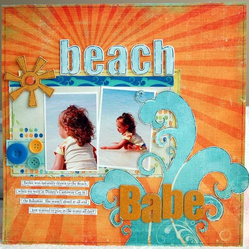 BHurd Beach Babe1