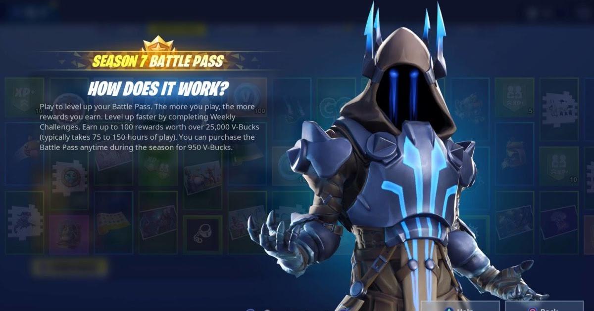 Fortnite Season 7 Skins Battle Pass Fortnite Free Week 6 Tier