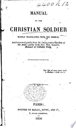 Telecharger Manual Of The Christian Soldier Mostly